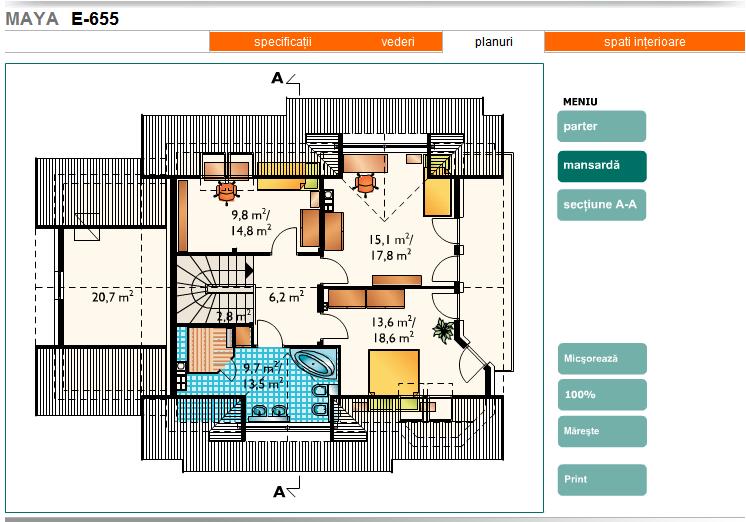 Planuri case proiecte de case for Planuri de case